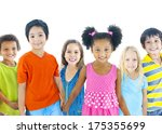 group of children | Shutterstock . vector #175355699