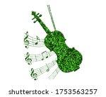 Guitar Music Icon Art  Electri...