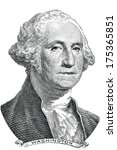 Gravure Of George Washington ...