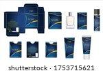 packaging design  luxury... | Shutterstock .eps vector #1753715621