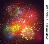 vector illustration with... | Shutterstock .eps vector #175373135