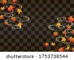 beautiful japanese pattern...   Shutterstock .eps vector #1753738544