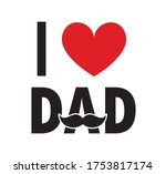 happy father's day background... | Shutterstock .eps vector #1753817174