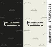 pattern background vector... | Shutterstock .eps vector #1753901261