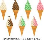 illustration set of various... | Shutterstock .eps vector #1753941767