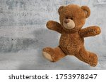 Cute Little Teddy Bear Have Fun ...