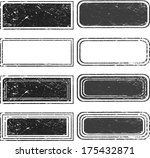 set of grunge stamp  | Shutterstock .eps vector #175432871