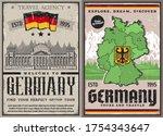 Germany Travel Retro Posters....