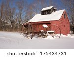 An Old Red Sugar House On A...