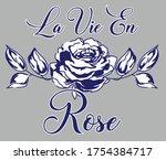 illustration rose design art...   Shutterstock .eps vector #1754384717