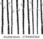 birch tree vector template...   Shutterstock .eps vector #1754402564