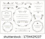 frame decorative frame... | Shutterstock .eps vector #1754429237