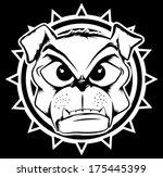 angry,animal,armory,arms,artistic,bull,bulldog,canine,cartoon,clip,collar,dog,doggy,dogs,ears