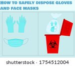 how to safely dispose... | Shutterstock .eps vector #1754512004