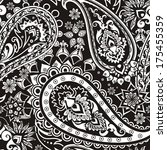 seamless pattern based on... | Shutterstock .eps vector #175455359