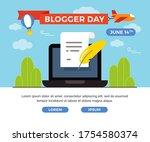 vector flat illustration for... | Shutterstock .eps vector #1754580374