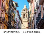 Pamplona Cathedral Seen From...