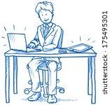business man employee being...
