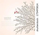 illustration of silhouette... | Shutterstock .eps vector #175495814