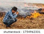 Farmer Desperate For Fire To...