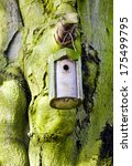 Detail Of A Small Birdhouse...