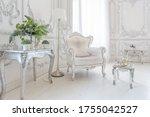 Luxurious Royal Interior Of The ...