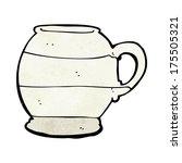 cartoon old style mug | Shutterstock . vector #175505321
