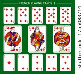 french playing cards suit...   Shutterstock .eps vector #1755083714