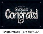 class of 2020. congrats... | Shutterstock .eps vector #1755094664