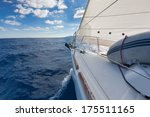 anchor  forestay and furling... | Shutterstock . vector #175511165