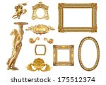 isolated golden  detail to... | Shutterstock . vector #175512374