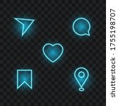 social media and communication... | Shutterstock .eps vector #1755198707