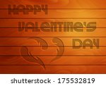 on wooden background an... | Shutterstock .eps vector #175532819