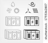 energy storage for renewable...   Shutterstock .eps vector #1755362807