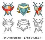 retro or vintage sketches of... | Shutterstock .eps vector #1755392684