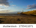 Beach And Pier At Whitby