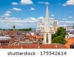 Cityscape Of York  A Town In...