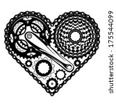 abstract,active,adrenaline,art,bicycle,bike,biking,black,cassette,chain,circles,crank,creative,cycle,design