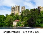 Durham Cathedral on a beautiful sunny summer