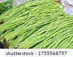 Yardlong Bean In The Market.