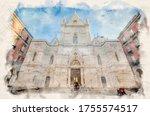 Naples  Italy. Duomo Di Santa...