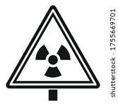 danger zone caution icon.... | Shutterstock .eps vector #1755669701