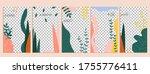 jungle story template. summer...   Shutterstock .eps vector #1755776411