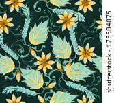 deep green background | Shutterstock .eps vector #175584875