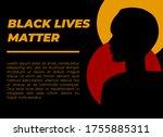 stop racism icon. motivational... | Shutterstock .eps vector #1755885311