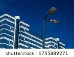A modern street led lighting...