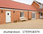 Small photo of Home extension or addition, UK barn conversion to provide a single storey granny annexe, annex