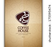 coffee house. | Shutterstock .eps vector #175595474
