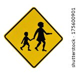 Children Crossing Road Sign...