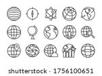 geography tool and global... | Shutterstock .eps vector #1756100651